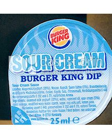 Produktabbildung: Burger King Sour Cream 25 ml