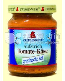 Produktabbildung: Zwergenwiese Brotaufstrich Tomate-Käse 125 g
