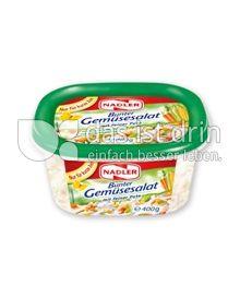 Produktabbildung: Nadler Bunter Gemüsesalat mit feiner Pute 400 g