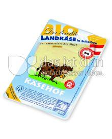 Produktabbildung: Käsehof Bio Landkäse in Scheiben 150 g
