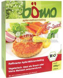 Produktabbildung: Bömo Apfel-Möhren Röstling 200 g