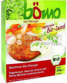 Produktabbildung: Bömo bio-Fitburger 200 g