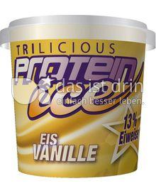 Produktabbildung: Trilicious Protein Ice Eis Vanille Eis 130 ml