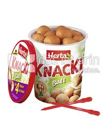 Produktabbildung: Herta Knacki Ball 200 g