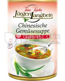 Produktabbildung: Feine Küche Jürgen Langbein Chinesische Gemüsesuppe 400 ml