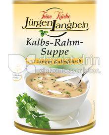 Produktabbildung: Feine Küche Jürgen Langbein Kalbs-Rahm-Suppe 400 ml