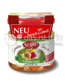 Produktabbildung: So gut! Gemüse Salat italienische Art mit Snack-Gabel 190 g