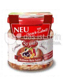 Produktabbildung: So gut! Bohnen Reis Salat mexikanische Art mit Snack-Gabel! 190 g