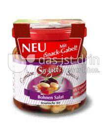 Produktabbildung: So gut! Bohnen Salat texanische Art mit Snack-Gabel! 190 g