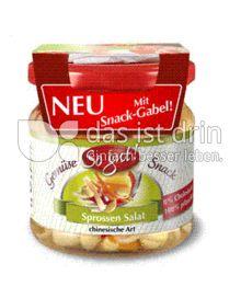 Produktabbildung: So gut! Sprossen Salat chinesche Art mit Snack-Gabel! 190 g