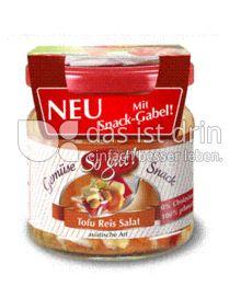 Produktabbildung: So gut! Tofu Reis Salat asiatische Art mit Snack-Gabel! 190 g