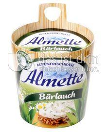 Produktabbildung: Almette Alpenfrischkäse Bärlauch 150 g