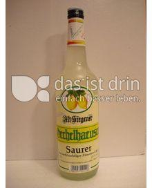Produktabbildung: Oechelhaeuser Markenspirituosen Alt Siegener  Saurer Zitronenlikör 700 ml