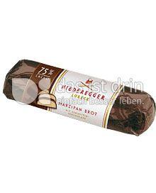 Produktabbildung: Niederegger Marzipan Brot Edelbitter 125 g