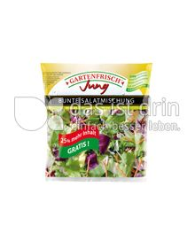 Produktabbildung: Gartenfrisch Jung Bunte Salatmischung 250 g