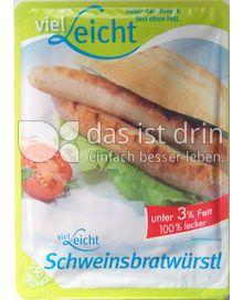Produktabbildung: viel-Leicht Schweinsbratwürstl 250 g