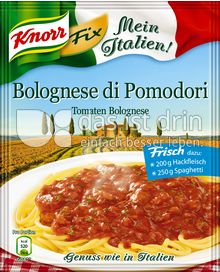 Produktabbildung: Knorr Mein Italien! Fix Bolognese di Pomodori Tomaten Bolognese