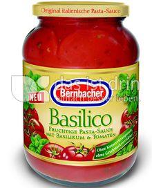 Produktabbildung: Bernbacher Pasta-Sauce Basilico 400 g