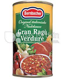Produktabbildung: Bernbacher Nudelsauce Gran Ragù Verdure 170 ml