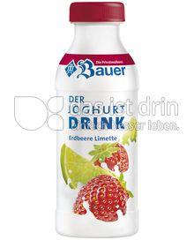 Produktabbildung: Bauer Joghurtdrink Erdbeere-Limette 250 g