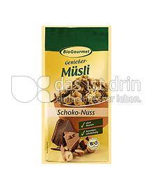 Produktabbildung: BioGourmet Genießer Müsli Schoko-Nuss 375 g