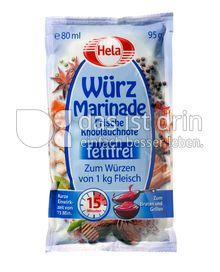 Produktabbildung: Hela Würz Marinade Frische Knoblauchnote 80 ml