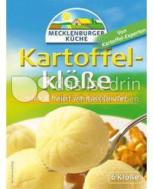 Produktabbildung: Die Mecklenburger Kartoffelklöße halb & halb 200 g