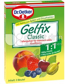 Produktabbildung: Dr. Oetker Gelfix Classic 1:1 60 g