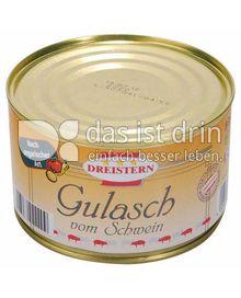 Produktabbildung: Dreistern Gourmet Schweinegulasch 500 g