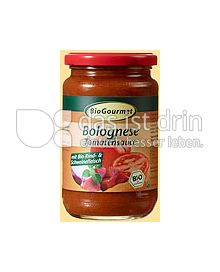 Produktabbildung: BioGourmet Bolognese Tomatensauce 340 g