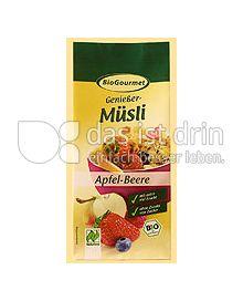 Produktabbildung: BioGourmet Genießer-Müsli Apfel-Beere 330 g