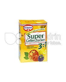 Produktabbildung: Dr. Oetker Super Gelier Zucker 3 :1