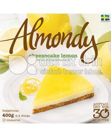 Produktabbildung: Almondy schwedische Mandeltorte cheesecake lemon 400 g