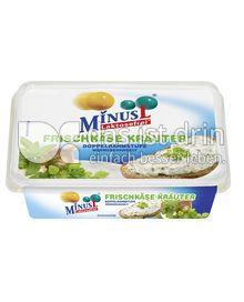 Produktabbildung: MinusL Laktosefreier Frischkäse Kräuter 200 g