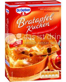 Produktabbildung: Dr. Oetker Bratapfel Kuchen 415 g