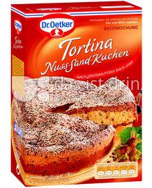 Produktabbildung: Dr. Oetker Tortina Nuss-Sand-Kuchen 590 g