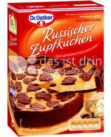 Produktabbildung: Dr. Oetker Russischer Zupfkuchen 670 g
