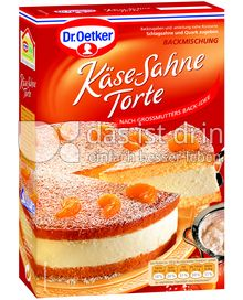 Produktabbildung: Dr. Oetker Käse-Sahne Torte 390 g