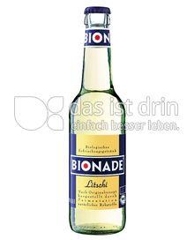 Produktabbildung: BIONADE Litschi 0,33 l