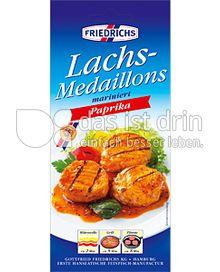 Produktabbildung: Friedrichs Lachs Medallions 160 g