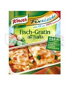 Produktabbildung: Knorr Fix & Leicht Fisch-Gratin all´Italia