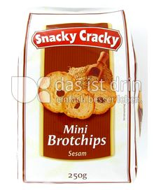 Produktabbildung: Snacky Cracky Mini Brotchips 250 g