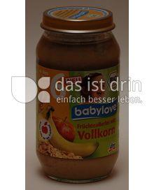 Produktabbildung: babylove Früchteallerlei mit Vollkorn 250