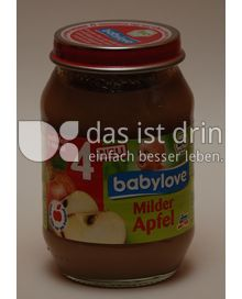 Produktabbildung: babylove Milder Apfel 190 g
