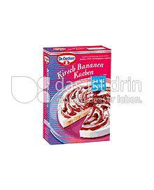 Produktabbildung: Dr. Oetker Kirsch Bananen Kuchen