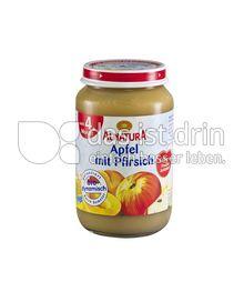 Produktabbildung: Alnatura Apfel mit Pfirsich 190 g