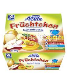 Produktabbildung: Nestlé Alete Früchtchen Gartenfrüchte 400 g
