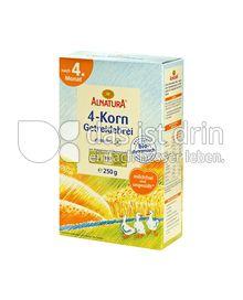 Produktabbildung: Alnatura 4-Korn-Getreidebrei 250 g