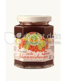 Produktabbildung:  Fruchtaufstrich Rote Johannisbeeren 200 g