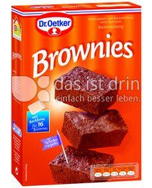 Produktabbildung: Dr. Oetker Brownies 456 g